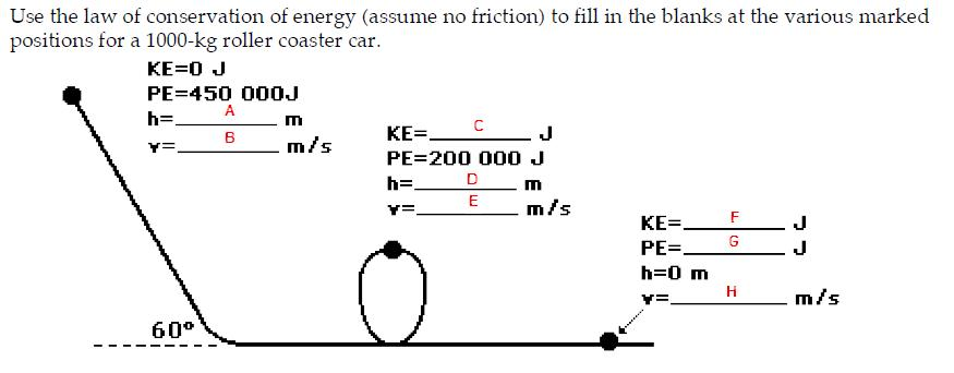 32 Label The Diagram Below With The Correct Values For Kinetic Energy